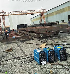 焊机钢结构应用案例